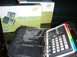 PERSONALIZED ORGENIZER+CALCULATOR-NEW IN A BOX