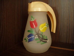 1950-1960's Syrup Pitcher