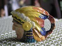 Indian Chief Character Jug (Royal Winton Grimwades)