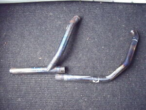 """H.D. """"Y"""" PIPE & HEAD PIPES & SHIELDS"""