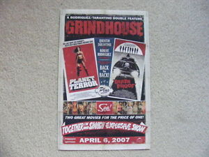 "FS: 2007 Grindhouse ""Planet Terror"" / ""Death Proof"" Theatrical O"