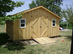 16x20 Portable Shed