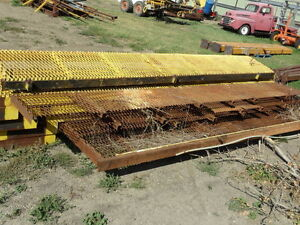 New / & Used Misc Steel ------Used  Steel 1/2 of new price