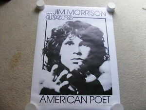 FS: Jim Morrison (The Doors) out-of-print Litho Sheets
