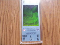 "FS: 1991 ""Super Bowl XXV"" UN-USED Hologram Game Ticket"