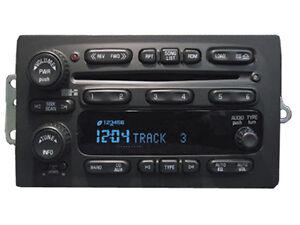 03-04-05-CHEVY-Silverado-Suburban-Tahoe-AVALANCHE-RADIO-6-CD-Changer-PLAYER
