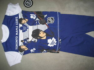 BRAND NEW TORONTO MAPLE LEAFS PJs - Size 6x
