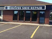 Timeless Shoe Repair - NOW OPEN!