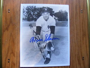 FS: Moose Skowron (New York Yankees) 8x10 black & white Autograp