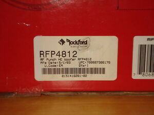 "Rockford Fosgate 12"" Punch Subwoofers West Island Greater Montréal image 6"
