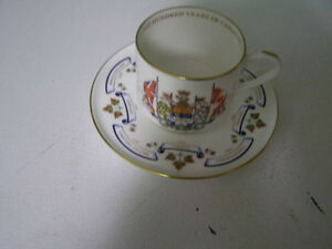 Canada's Centennial Cup and Saucer