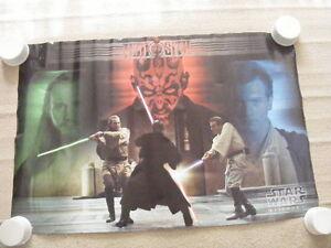 "FS: 1999 Trends ""Star Wars Episode 1 (Jedi vs. Sith)"" Poster"