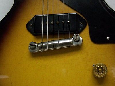 MojoAxe Compensated Wraparound Bridge for Vintage Gibson Les