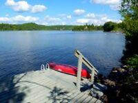 CHELSEA WATERFRONT Gatineau Riv BBQ WiFi Big Dock SatTV Canoe