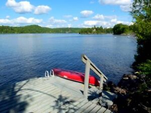 CHELSEA WATERFRONT Dock Canoe BBQ Total privacy!  AVAILABLE NOW