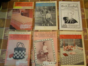 Books - Collection of The Work Basket