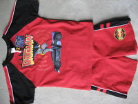 BRAND NEW Batman Red Short Set - Size 6x