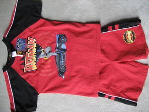 BRAND NEW Batman Red Short Set - Size 6x