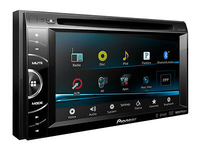 "Pioneer AVH-X2500BT 6.1"" Double DIN DVD Car Receiver with Bluetooth AVHX2500BT on Rummage"