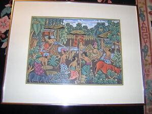 Vintage Indonesian Artwork (1980's) - Originals