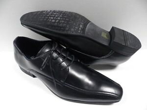 Chaussures GL noir HOMME taille 41 shoes black man costume de mariage NEUF #3