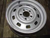 "15 INCH STEEL,15""x6"" JEEP WHEELS, 1988-2002 JEEP WRANGLER"