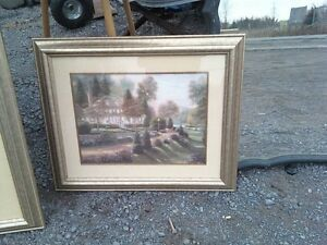 2 NICE MATTED PICTURES