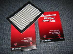 2-filtre a air pour moteur GM 3,1 litre V6
