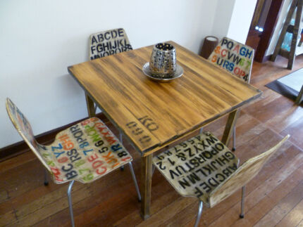 Rustic Industrial Dining Table Rustic Industrial Cafe Dining