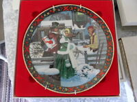1986 Royal Windsor Christmas Collector Plate