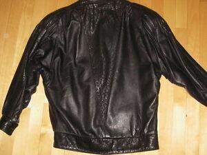 leather coat - manteau de cuir S/P Gatineau Ottawa / Gatineau Area image 2