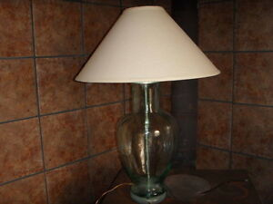 Vintage 1960's-1970's Lamp with Original Shade