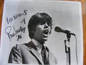 FS: Peter Noone (Herman's Hermits) Autographed Photo London Ontario image 1