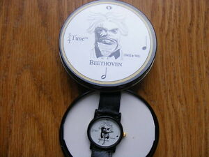 "FS: ""Beethoven 3/4 Time"" Quartz Wrist Watch with Decorative Tin London Ontario image 1"