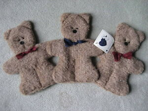 BRAND NEW - Teddy Bear Plush Wall Hanging