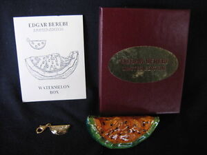 EDGAR BEREBI WATERMELON COLLECTIBLE BOX