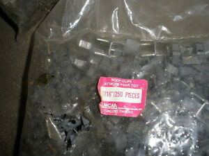 "Lots of 7/16"" roof H clips for strengthening 4 x 8 sheets"