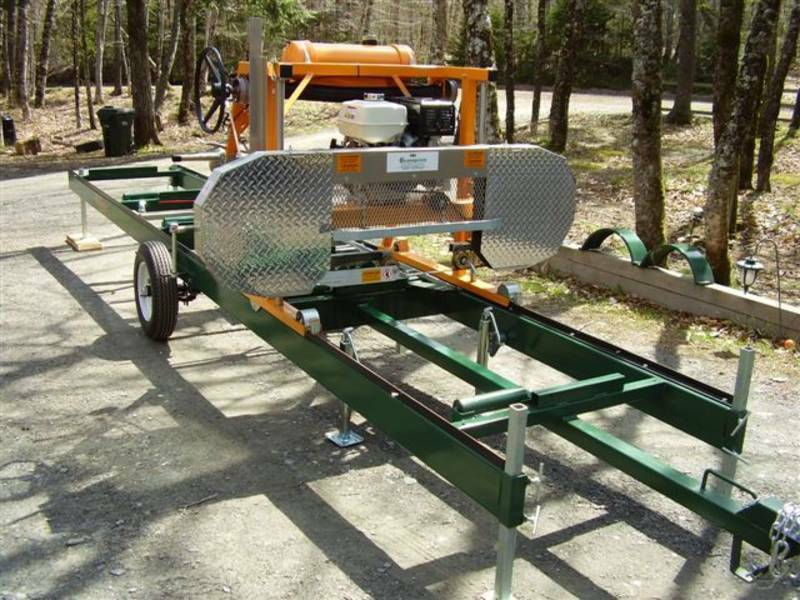 Smg Champion Portable Bandsaw Mill Sawmills Ready To Saw