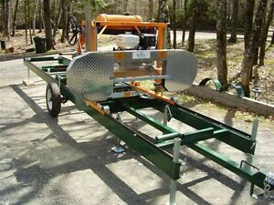SMG Champion Portable Bandsaw Mill - Sawmills Ready To Saw