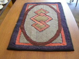 vintage hooked rugs