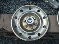 """GM pickup truck 16"""" Factory option stainless 6-bolt wheel covers"""