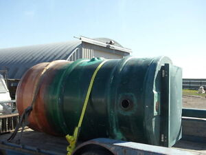 1100 Gallon Fiberglass Sewage Tank $3200.00
