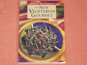 """THE NEW VEGETARIAN GOURMET""  ""RECIPE BOOK""  BYRON AYANOGLU"