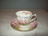 """BLOSSOM TIME"" by ROYAL ALBERT FBC CUP & SAUCER"