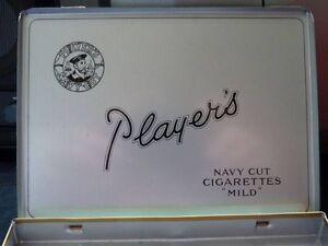 Players Navy Cut Cigerette Tin box