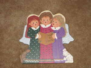 FOLKART CHRISTMAS ANGELS/PRICE REDUCED