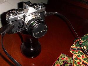 Vintage Olympus SLR camera OM1 (manual)