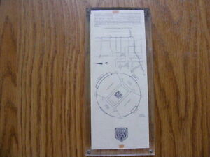 "FS: 1991 ""Super Bowl XXV"" UN-USED Hologram Game Ticket London Ontario image 2"