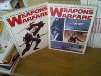 Set of 24 Weapons and Warfare Encyclopedias
