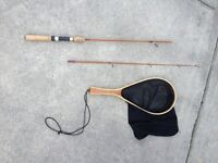 Spin Cast Trout Rod and Net